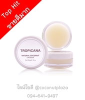 Natural Coconut Balm 10 g. กลิ่น Coconut Delight
